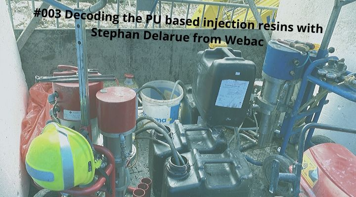 Decoding the PU based injection resins with Stephan Delarue from Webac