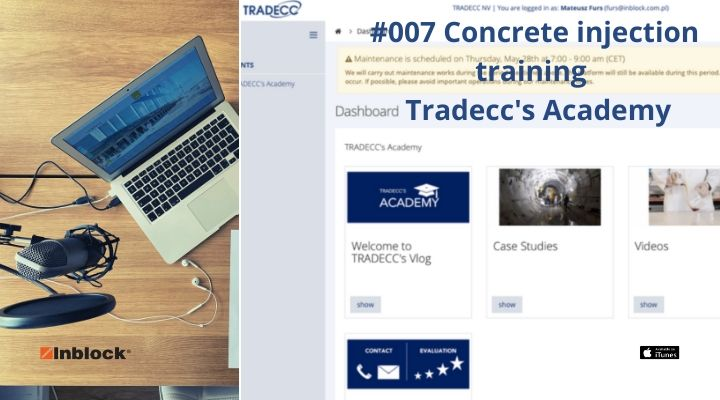 #007 Concrete injection training - Tradecc's Academy